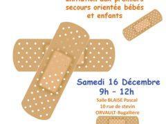 Affiche premiers secours décembre V2