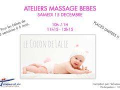 Affiche ateliers massage bébés 15 decembre 2018 (2)