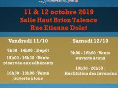 Bourse automne 2019