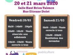 affiche bourse mars 2020