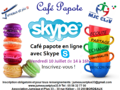 cafe papote SKYPE Juillet-2020