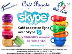 cafe papote SKYPE novembre